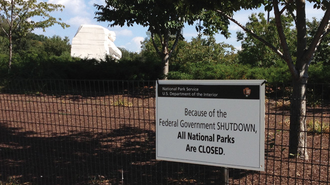 New Photos And Interactive Map Document Shutdown Effects On - Interactive map of us national parks