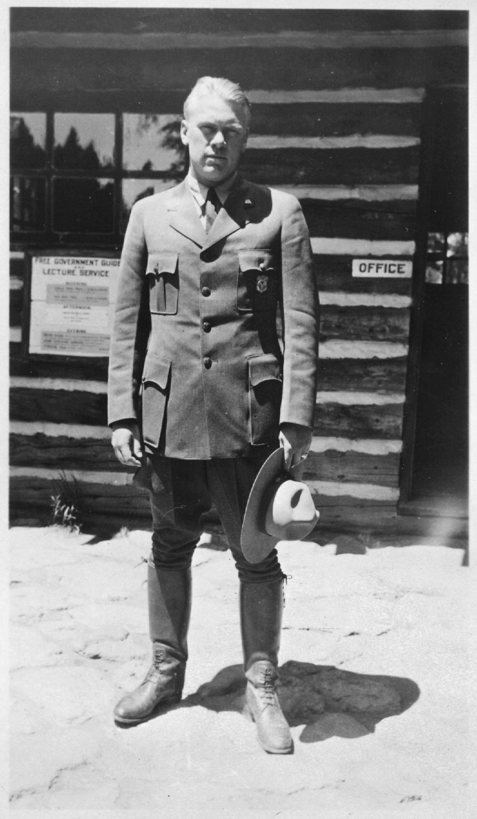 America S Only Park Ranger President 183 National Parks