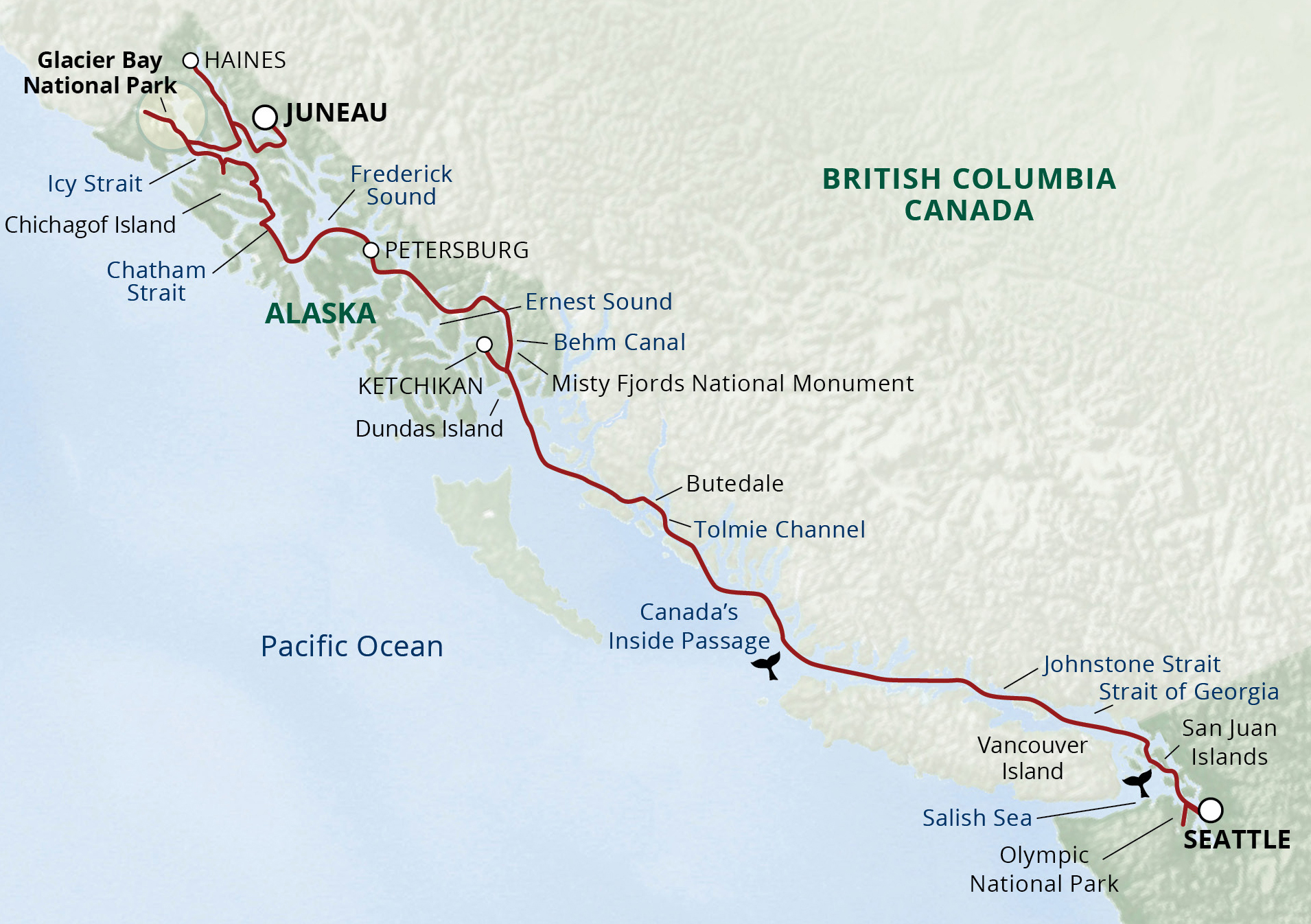 Alaskas Inside Passage San Juans Cruise 2018 UnCruise