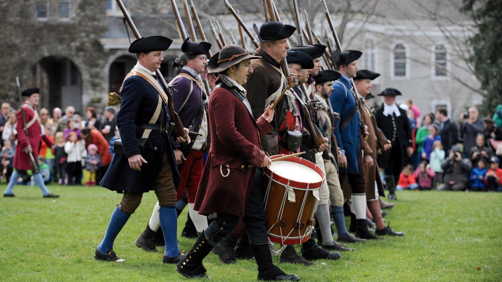 Image result for revolutionary war reenactment firing squad