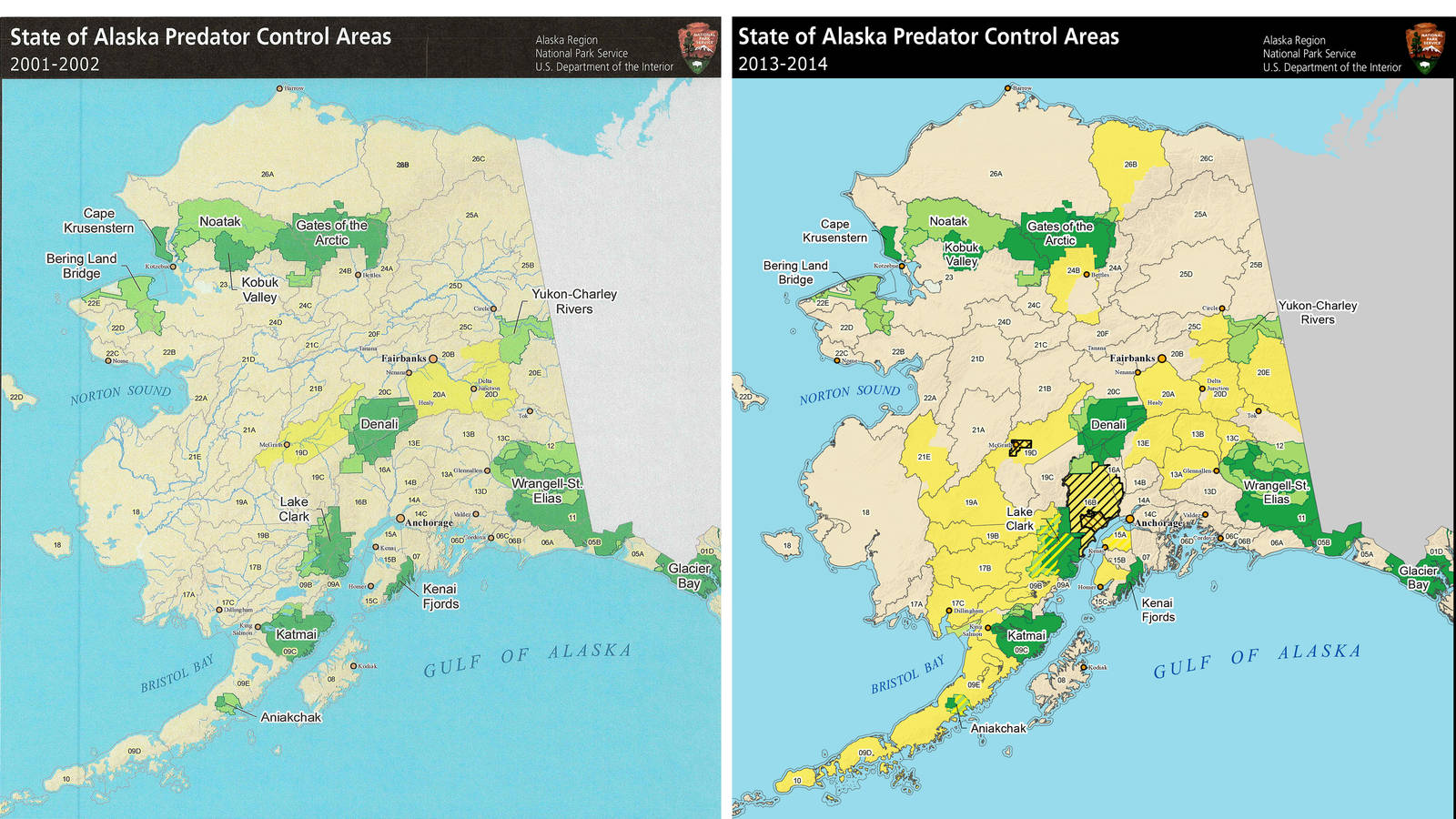 Glossary Of Unbearable Terms National Parks Conservation Association - Alaska over us map