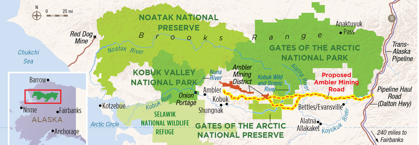 Protect Gates of the Arctic National Park Preserve National