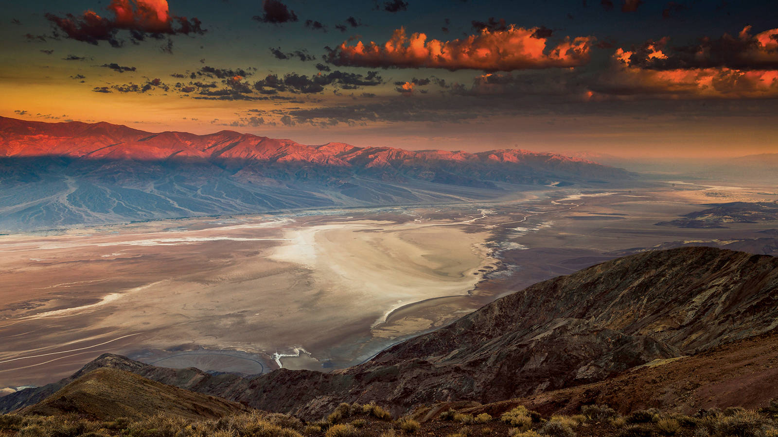 Some Like It Very Hot National Parks Conservation Association Snake Skeleton Diagram Beautiful Scenery Photography The Sun Rises Over Badwater Salt Pan And Panamint Range In Death Valley Fran Gallogly Tandemstock