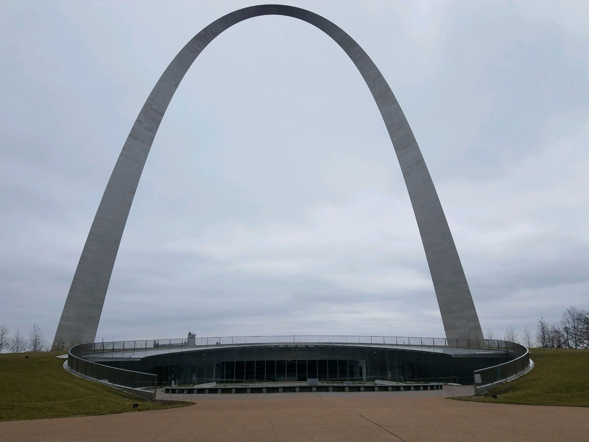 The empty visitor center beneath the Gateway Arch in Missouri in January 2019 during the partial government shutdown.