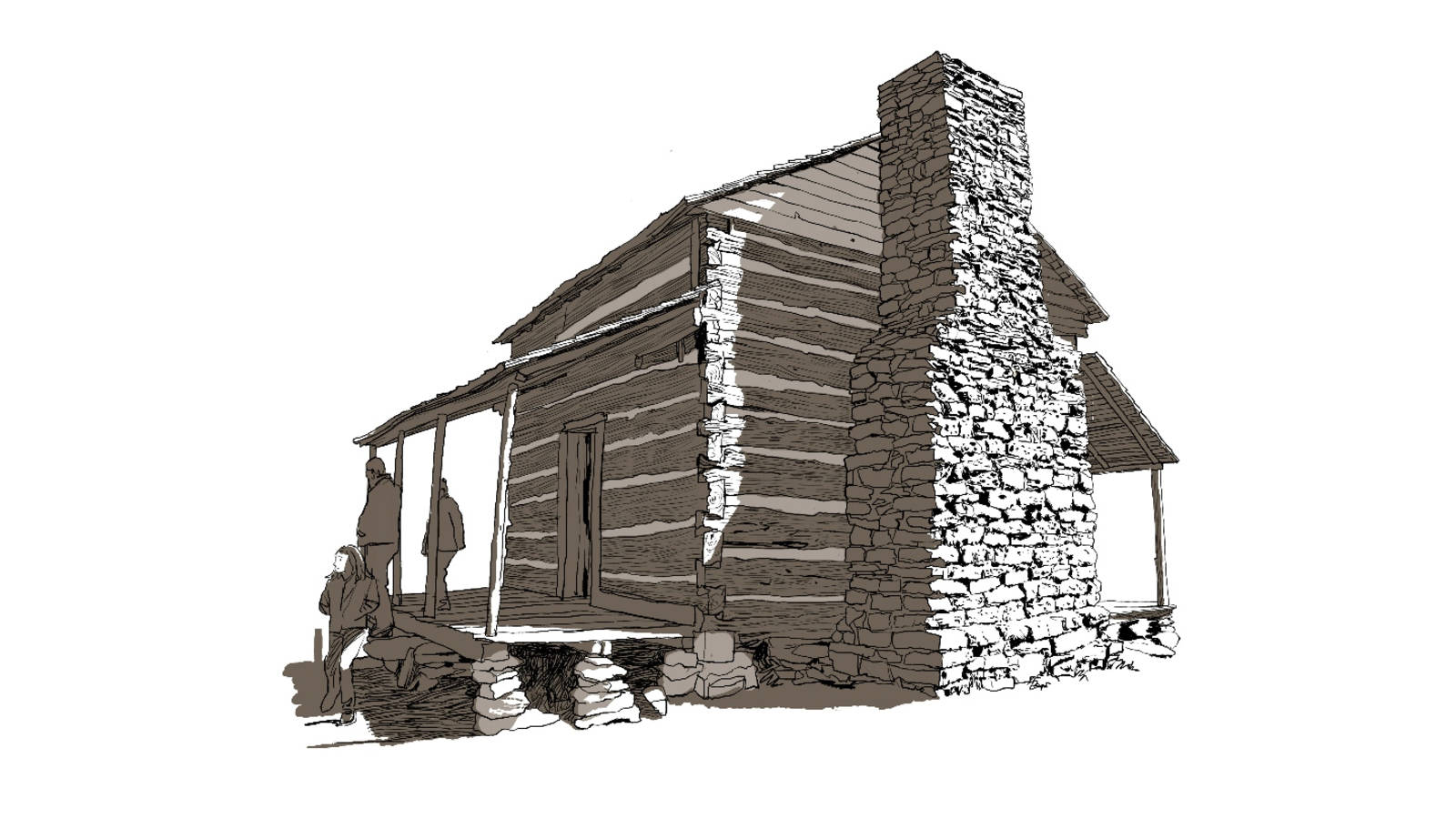 <p>The John Oliver cabin is thought to be the oldest of the over 80 structures in the park. No frills here: The immense amount of labor required to build the simplest dwelling is there for all to see.</p>