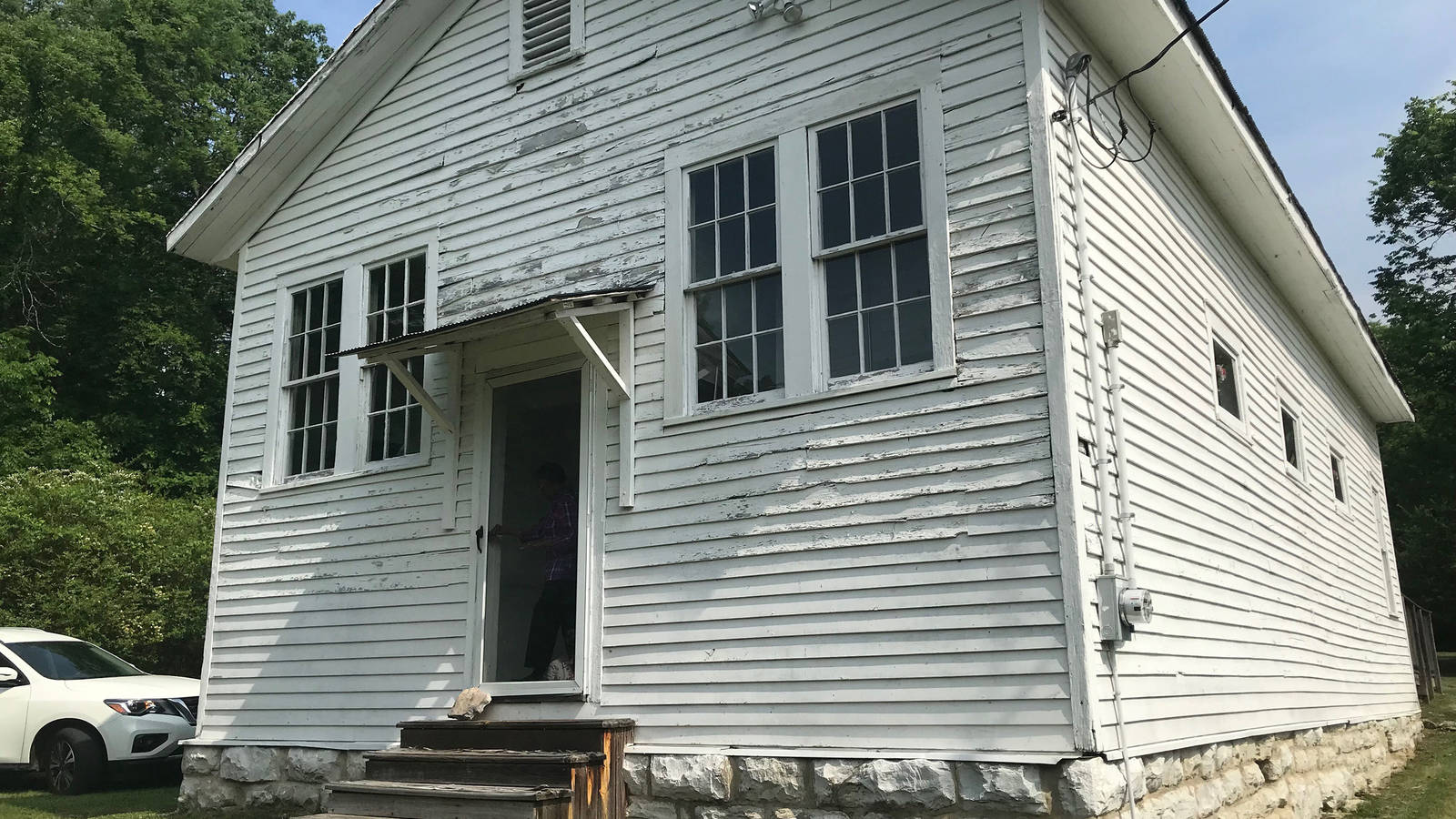 <p>The Cairo Rosenwald School in Tennessee.</p>