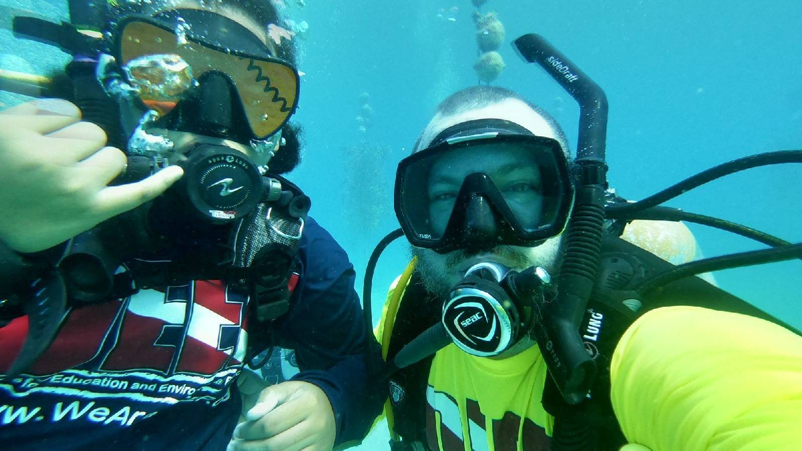 <p>NPCA worked with veterans from Divers for Education &amp; Environmental Protection (DEEP) to outplant coral in the Florida Keys National Marine Sanctuary for World Ocean Day.</p>