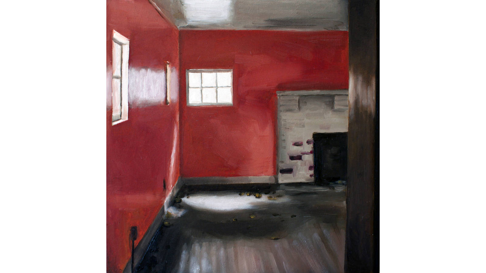 """<h3 style=""""text-align: center; padding: 50px;""""><span class=""""text-Intro-style"""">Staff at Great Smoky Mountains National Park and a nonprofit partner are working to preserve 19 Elkmont district homes, many of which have been vacant for more than two decades. Oil on wood, 2020.</span></h3>"""