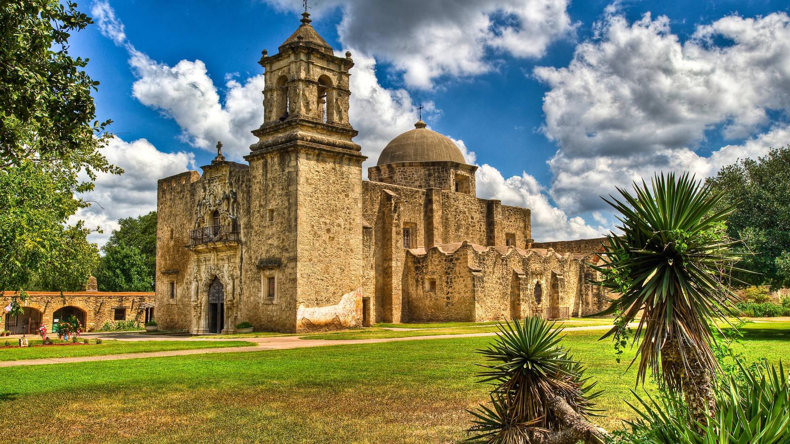 Mission San Jose, San Antonio, Texas без смс
