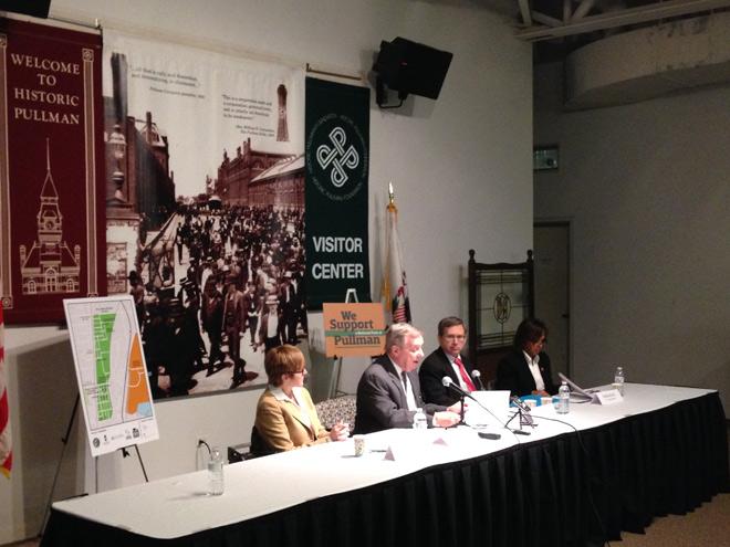 Pullman press conference