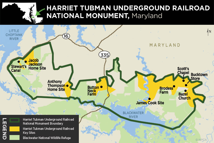 Underground Railroad New York Map.Follow In The Footsteps Of An American Hero At Harriet Tubman