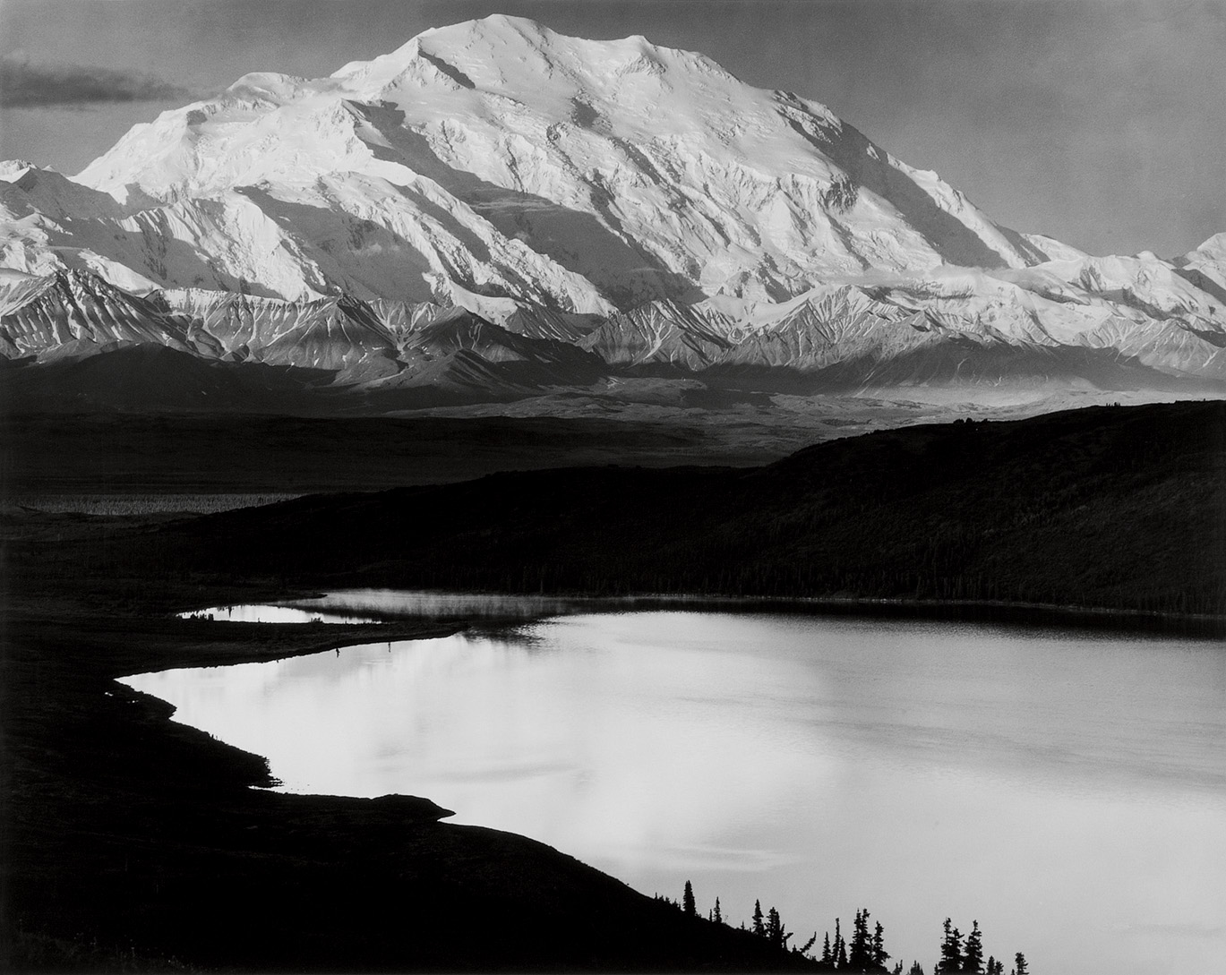 In black and white · national parks conservation association