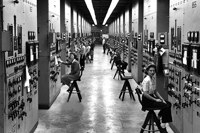 The new parks created through this bill will will protect places taken right out of the pages of our history and science books, such as the three sites devoted to the Manhattan Project of World War II. Shown here are calutron operators in Oak Ridge, Tennessee, in the mid-1940s.