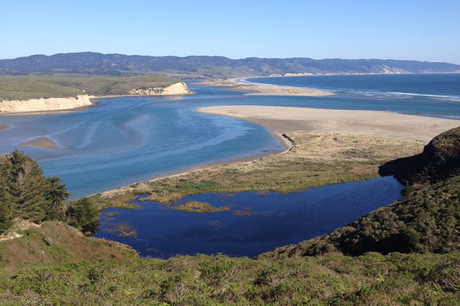 Drakes Estero, the ecological heart of the marine wilderness at Point Reyes National Seashore.