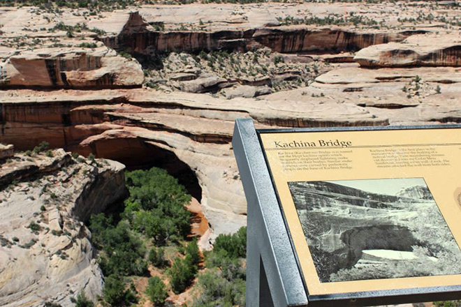 Kachina, the youngest of the three natural bridges.