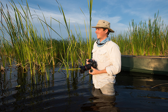 Conservation photographer Mac Stone