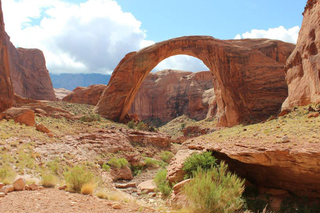 Have extra time? Take a side trip to Rainbow Bridge, the largest national bridge in the world!