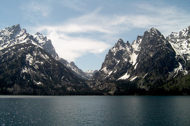 Volunteering at Grand Teton National Park can be challenging, but what a view!